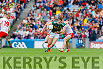 Sean O'Shea, Kerry in action against Conor Meyler, Tyrone during the All Ireland Senior Football Semi Final between Kerry and Tyrone at Croke Park, Dublin on Sunday.