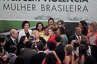 """BRASÍLIA,DF 13 DE MARÇO 2013. - PRESIDENTA DILMA PARTICIPA DA CERIMÔNIA DE LANÇAMENTO DO """"PROGRAMA MULHER VIVER SEM VIOLÊNCIA"""" -  A presidenta Dilma durante o lançamento do programa Mulher Viver Sem Violência no Palácio do Planalto, em Brasilia, nesta quarta-feira, 13. FOTO: RONALDO BRANDÃO/BRAZIL PHOTO PRESS"""