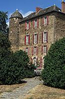 Europe/France/Auvergne/12/Aveyron: Le Château du Bosc - Demeure de Toulouse-Lautrec