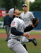 July 11, 2003:  Nick Cavarrubias of the Staten Island Yankees during a game at Dwyer Stadium in Batavia, New York.  Photo by:  Mike Janes/Four Seam Images