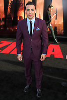 "HOLLYWOOD, LOS ANGELES, CA, USA - MAY 08: Victor Rasuk at the Los Angeles Premiere Of Warner Bros. Pictures And Legendary Pictures' ""Godzilla"" held at Dolby Theatre on May 8, 2014 in Hollywood, Los Angeles, California, United States. (Photo by Xavier Collin/Celebrity Monitor)"