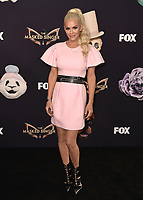 "BEVERLY HILLS  - SEPTEMBER 10:  Jenny McCarthy attends the season two premiere event for FOX's ""The Masked Singer"" at The Bazaar at the SLS Beverly Hills on September 10, 2019 in Beverly Hills, California. (Photo by Scott Kirkland/FOX/PictureGroup)"