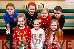 Presentation primary School play on Wednesday 13th December, Front Row: Kate Brick, Alicia Daly, Nicole Szeszko. Back Row: L-R Mike O Brien, Donna O Brien, Robyn Sheridan, Martin Mongans.