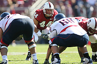 14 October 2006: Pat Maynor during Stanford's 20-7 loss to Arizona during Homecoming at Stanford Stadium in Stanford, CA.