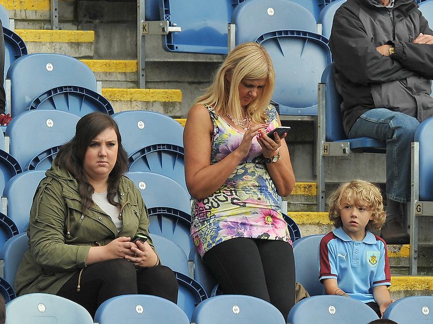 Fans<br /> <br /> Photographer Dave Howarth/CameraSport<br /> <br /> Football - The Football League Sky Bet Championship - Burnley v Brentford - Saturday 22nd August 2015 - Turf Moor - Burnley<br /> <br /> &copy; CameraSport - 43 Linden Ave. Countesthorpe. Leicester. England. LE8 5PG - Tel: +44 (0) 116 277 4147 - admin@camerasport.com - www.camerasport.com