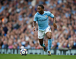 Raheem Sterling of Manchester City during the premier league match at the Etihad Stadium, Manchester. Picture date 22nd September 2017. Picture credit should read: Simon Bellis/Sportimage