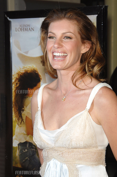 "FAITH HILL at the Hollywood Film Festival's opening night gala premiere of ""Flicka""..October 18, 2006  Los Angeles, CA.Picture: Paul Smith / Featureflash"