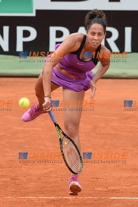 Madison Keys (USA)<br /> Roma 14-05-2016  Foro Italico<br /> Internazionali BNL d'Italia, Women Semifinal,<br /> Tennis WTA<br /> Foto Antonietta Baldassarre / Insidefoto