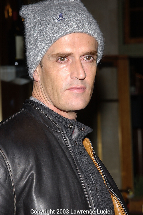 NEW YORK-JANUARY 21: Actor Rupert Everett appears at The Week magazine's lunch discussion of national issues January 21, 2003, at Michael Jordans Steakhouse in New York City.