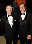 Alastair Buchan and Eric Pearson at the Ole! A Night in Old Mexico Gala at the Museum of Natural Science Saturday March 05,2016.(Dave Rossman Photo)