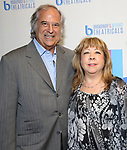 Stewart F. Lane and Victoria Lang attend BroadwayHD debuted their slate of digital captures with Broadway & Beyond Theatricals at The APAP Conference  on January 912, 2020 at The Hilton Hotel Midtown in New York City.
