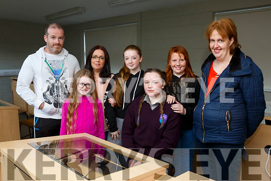 At the Colaiste Gleann Lí Open Day on Saturday were David Banks, Deirdre Jordan, Sophie Jordan Banks, Rachel Jordan Banks, Clara faggetter, Saoirse Doyle and Mary Quill