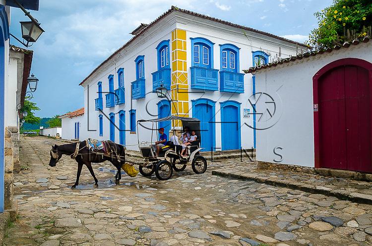 Casario no centro histórico, Paraty- RJ, 12/2013.