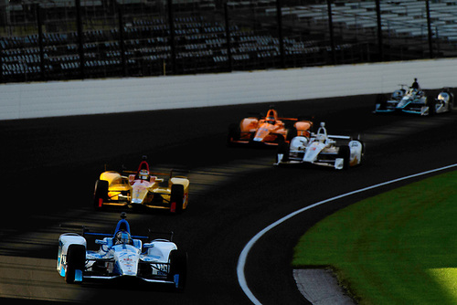 Verizon IndyCar Series<br /> Indianapolis 500 Practice<br /> Indianapolis Motor Speedway, Indianapolis, IN USA<br /> Tuesday 16 May 2017<br /> Marco Andretti, Andretti Autosport with Yarrow Honda<br /> World Copyright: Scott R LePage<br /> LAT Images<br /> ref: Digital Image lepage-170516-indy-5670
