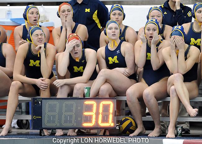 Michigan vs. SDSU in women's water polo at Canham Natatorium, Sunday, January 20, 2013.