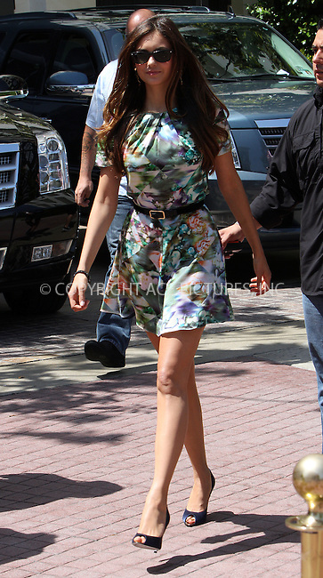WWW.ACEPIXS.COM . . . . .  ....May 9 2012, LA....Actress Nina Dobrev walks in The Grove on May 9 2012 in LA....Please byline: Zelig Shaul - ACE PICTURES.... *** ***..Ace Pictures, Inc:  ..Philip Vaughan (212) 243-8787 or (646) 769 0430..e-mail: info@acepixs.com..web: http://www.acepixs.com