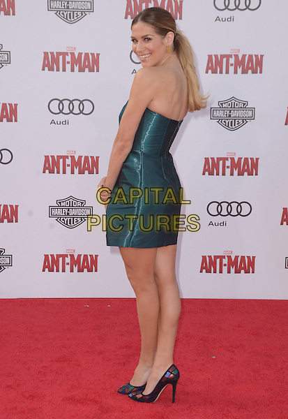 29 June 2015 - Hollywood, California - Allison Holker. Arrivals for the world premiere of Marvel's &quot;Ant-Man&quot; held at The Dolby Theater. <br /> CAP/ADM/BT<br /> &copy;BT/ADM/Capital Pictures