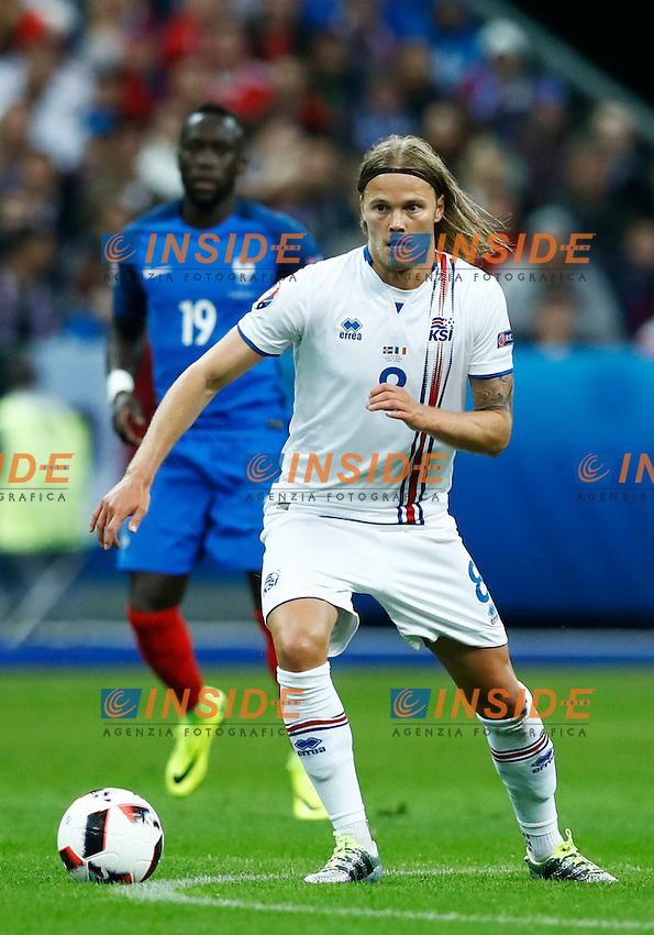 Bikir Bjarnason (Iceland) <br /> Paris 03-07-2016 Stade de France Football Euro2016 France - Iceland / Francia - Islanda Quarter finals <br /> Foto Matteo Ciambelli / Insidefoto