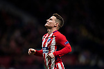 Kevin Gameiro of Atletico de Madrid reacts during the UEFA Europa League 2017-18 Round of 32 (2nd leg) match between Atletico de Madrid and FC Copenhague at Wanda Metropolitano  on February 22 2018 in Madrid, Spain. Photo by Diego Souto / Power Sport Images