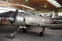 - air museum of Cracovia  (Poland), TS-8 Bies airplane(Poland, 1956)....- museo dell' aeronautica di Cracovia (Polonia), aereo   TS-8 Bies (Polonia, 1956)