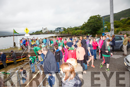 Spectators and crews at the Cahersiveen Regatta on Sunday.