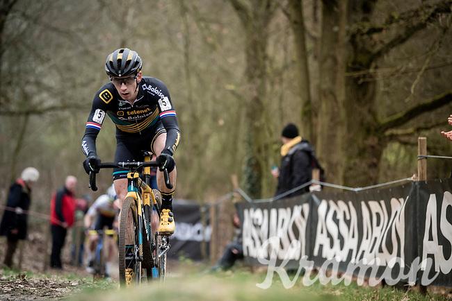 Lars van der Haar (NED/Telenet Baloise Lions)<br /> <br /> Elite + U23 Men's Race<br /> CX GP Leuven (BEL) 2020<br />  <br /> ©kramon