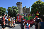The Publicity caravan during Stage 15 of the 104th edition of the Tour de France 2017, running 189.5km from Laissac-Severac l'Eglise to Le Puy-en-Velay, France. 16th July 2017.<br /> Picture: ASO/Bruno Bade | Cyclefile<br /> <br /> <br /> All photos usage must carry mandatory copyright credit (&copy; Cyclefile | ASO/Bruno Bade)