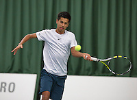 18-01-14,Netherlands, Rotterdam,  TC Victoria, Wildcard Tournament,   Fabian van der Lans (NED)   <br /> Photo: Henk Koster