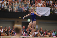 TURNEN: HEERENVEEN: 09-07-2016, Sportstad Heerenveen, Kwalificatiewedstrijd OS turnen, Céline van Gerner, ©foto Martin de Jong