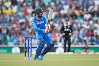 Ravindra Jadeja (India) pulls square of the wicket during India vs New Zealand, ICC World Cup Warm-Up Match Cricket at the Kia Oval on 25th May 2019