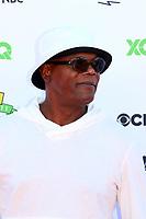 LOS ANGELES - SEP 8:  Samuel L Jackson at the EIF Presents: XQ Super School Live at the Barker Hanger on September 8, 2017 in Santa Monica, CA