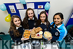 Presentation Secondary School Tralee, students l-r: Lucy Murphy, Michelle Doody, Sadhbh Kilgallon and Zara Riaz, pictured with their project The Chef Hat, at IT Tralee Student Enterprise awards on Friday last.