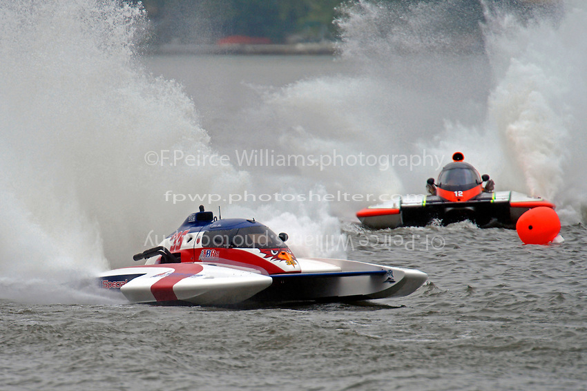 "John Shaw, E-35 ""T M Special"", Jimmy King, E-12 ""Pleasure Seekers""  (5 Litre class hydroplane(s)"