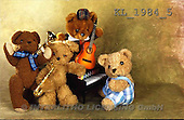 Interlitho, Alberto, CUTE ANIMALS, teddies, photos, teddy, music(KL1984/5,#AC#)