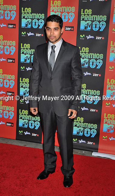 UNIVERSAL CITY, CA. - October 15: Wilmer Valderrama  attends Los Premios MTV 2009 Latin America Awards held at the Gibson Amphitheatre on October 15, 2009 in Universal City, California.