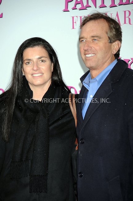 WWW.ACEPIXS.COM . . . . . ....February 3 2009, New York City....Mary Richardson Kennedy and husband environmental lawyer/activist Robert F. Kennedy Jr.  arriving at the premiere of 'The Pink Panther 2' at the Ziegfeld Theatre on February 3, 2009 in New York City.....Please byline: KRISTIN CALLAHAN - ACEPIXS.COM.. . . . . . ..Ace Pictures, Inc:  ..tel: (212) 243 8787 or (646) 769 0430..e-mail: info@acepixs.com..web: http://www.acepixs.com