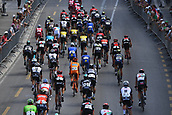 June 17th 2017, Schaffhaussen, Switzerland;  Illustration picture of the peloton during stage 8 of the Tour de Suisse cycling race, a stage of 100 kms between Schaffhaussen and Schaffhaussen