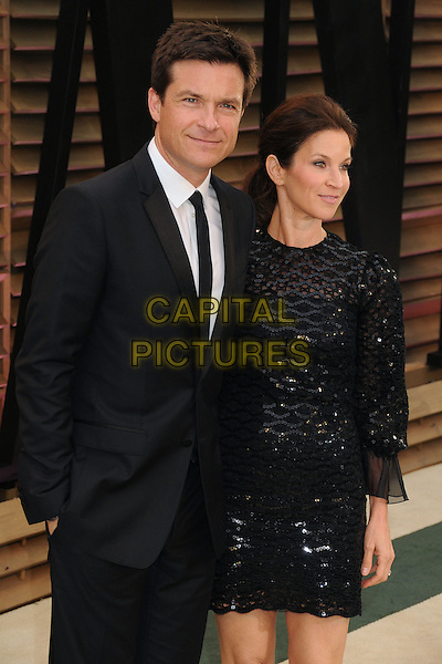 02 March 2014 - West Hollywood, California - Jason Bateman, Amanda Anka. 2014 Vanity Fair Oscar Party following the 86th Academy Awards held at Sunset Plaza.  <br /> CAP/ADM/BP<br /> &copy;Byron Purvis/AdMedia/Capital Pictures