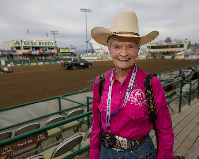 Marilyn Newton during the Reno Rodeo Nevada Pink Night on Friday, June 28, 2019.