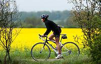 09 MAY 2010 - GRENDON, GBR - Linda Jenkins - Grendon Triathlon (PHOTO (C) NIGEL FARROW)
