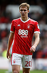 Kieran Dowell of Nottingham Forest during the Championship match at the City Ground Stadium, Nottingham. Picture date 30th September 2017. Picture credit should read: Simon Bellis/Sportimage