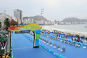 General view, <br /> AUGUST 20, 2016 - Triathlon : <br /> Women's Final <br /> at Fort Copacabana <br /> during the Rio 2016 Olympic Games in Rio de Janeiro, Brazil. <br /> (Photo by YUTAKA/AFLO SPORT)