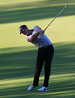 Danny Willett (ENG) in action on the 11th during Round 2 of the ISPS Handa World Super 6 Perth at Lake Karrinyup Country Club on the Friday 9th February 2018.<br /> Picture:  Thos Caffrey / www.golffile.ie<br /> <br /> All photo usage must carry mandatory copyright credit (&copy; Golffile   Thos Caffrey)