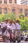 Hispanic Children Dancing, Cinco de Mayo Celebration, Phoenix, Arizona