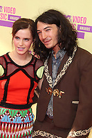 LOS ANGELES, CA - SEPTEMBER 06: Ezra Miller and Emma Watson at the 2012 MTV Video Music Awards at The Staples Center on September 6, 2012 in Los Angeles, California. &copy;&nbsp;mpi28/MediaPunch inc. /NortePhoto.com<br />