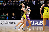 Pulse&rsquo; Katrina Rore in action during the ANZ Premiership - Pulse v Stars at TSB Arena, Wellington, New Zealand on Monday 13 May 2019. <br /> Photo by Masanori Udagawa. <br /> www.photowellington.photoshelter.com