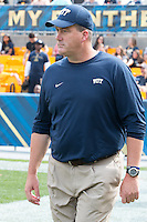 Pitt head coach Paul Chryst. Iowa Hawkeyes defeated the Pitt Panthers 24-20 at Heinz Field, Pittsburgh Pennsylvania on September 20, 2014.