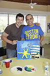 Christopher Sean and Michael - A Painting Party where actors and children and adults do paintings to be auctioned off at the Night of Stars and on the Marco Island Princess- Actors from Y&R, General Hospital and Days donated their time to Southwest Florida 16th Annual SOAPFEST - a celebrity weekend May 22 thru May 25, 2015 benefitting the Arts for Kids and children with special needs and ITC - Island Theatre Co. on May 23 , 2015 on Marco Island, Florida. (Photos by Sue Coflin/Max Photos)