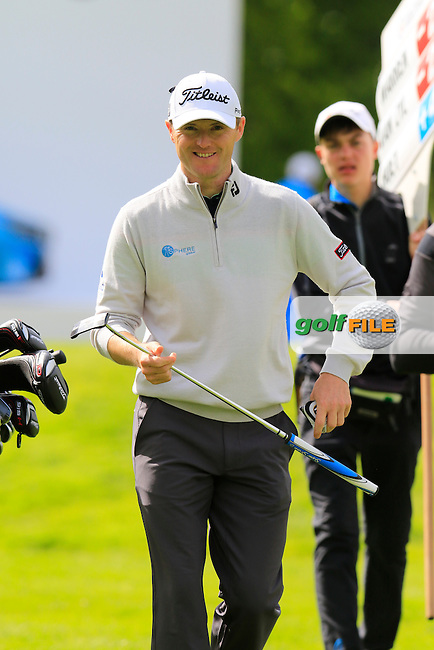 Michael Hoey (NIR) on 12th hole during Thursday's Round 1 of the 2016 Dubai Duty Free Irish Open hosted by Rory Foundation held at the K Club, Straffan, Co.Kildare, Ireland. 19th May 2016.<br /> Picture: Eoin Clarke | Golffile<br /> <br /> <br /> All photos usage must carry mandatory copyright credit (&copy; Golffile | Eoin Clarke)