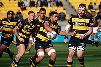 Action from the Mitre 10 Cup rugby match between Wellington Lions and Taranaki at Westpac Stadium in Wellington, New Zealand on Saturday, 27 August 2016. Photo: Mike Moran / lintottphoto.co.nz